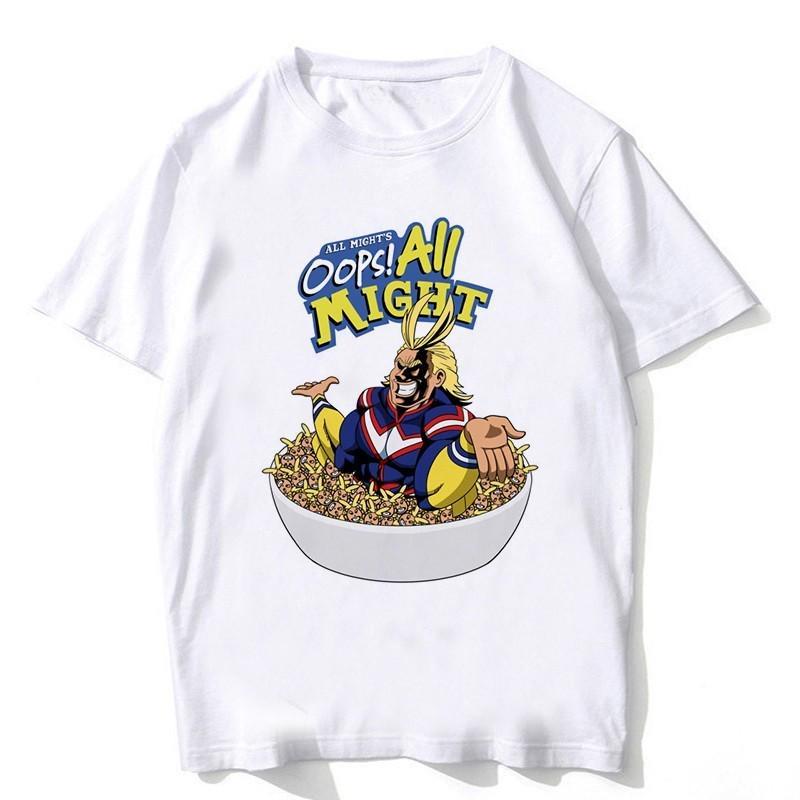 Newest My Hero Academia T Shirts Man Short Sleeve Clothing Boku No Hero Academia Cosplay Funny Buy From 15 On Joom E Commerce Platform