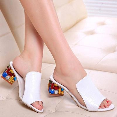 Lala Summer Fashion Shoes With Breathable Diamond In The Rough With Sandals And Slippers Buy At A Low Prices On Joom E Commerce Platform