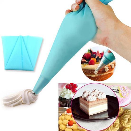 Силиконовые ТПУ трубопроводов мешок многоразового обледенения труб кондитерские изделия крем мешок торт украшать DIY инструмента фото