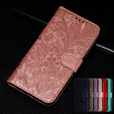 3D Lace Flower Embossing Leather Flip Wallet Case For Samsung Xiaomi Redmi Huawei Honor iPhone Nokia