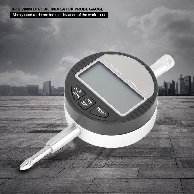 0-12.7mm//0.5/'/' Range Gauge Digital Dial indicator Precision Tool Alloy