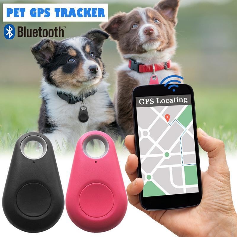 Smart Dog Bluetooth Locator Pet GPS Tracker Alarm Remote Selfie Shutter  Release Automatic Wireless