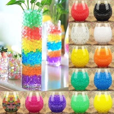 Decoration Water Plant Water Pearls Gel Beads Balls Flower Jelly