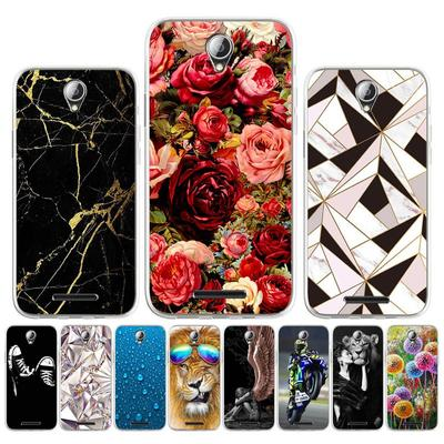 Soft Silicone Case for Lenovo A1010 A2010 A2020 Case for Lenovo A536 A5000 A5 C2 Cover Painted Cartoon Cute Animal Pet Flower Patterned Phone Bumper
