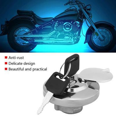 For MT-09 FZ09 MT07 MT-07 35mm Cool Motorcycle CNC Aluminum Fuel Gas Oil Tank Cap Cover black Practical Auto Accessories