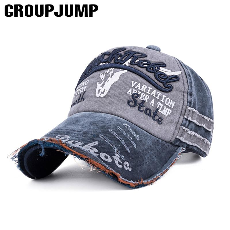 Мода промывают бейсбол шапку дам мужчины открытый крышка мужчин и женщин Кап спортивная Бейсболка унисекс фото