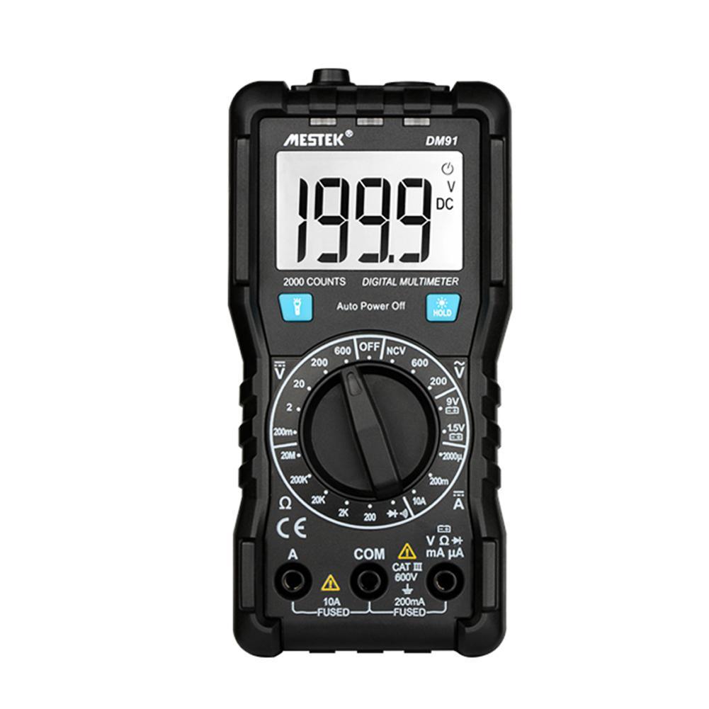 MESTEK DM91 цифровой мультиметр автоматический тестер емкости метр детектора – купить по низким ценам в интернет-магазине Joom