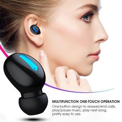 HBQ Q32 schnurloses Headset Headset Kopfhörer-Headpy new