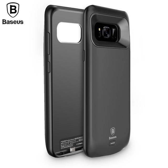 Battery Charger Cases Creative New Products 5500mah Smart Phone Battery Case For Samsung S8 Plus S8 5000mah Charger Case Colorful For Samsung Galaxy S8