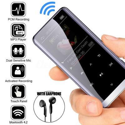 Headset Verlustfreier Audio-Player MP3//MP4 Spieler HiFi Musik Player FM Radio