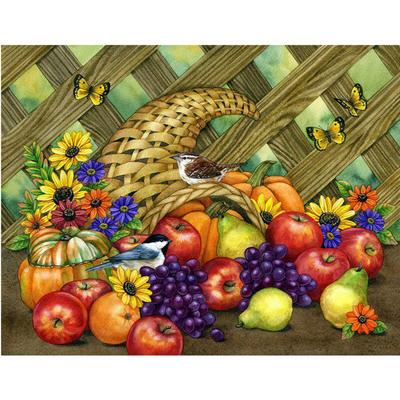 5D Full Drill Diamond Painting Fruit Embroidery Cross Stitch Kits Art Home Decor