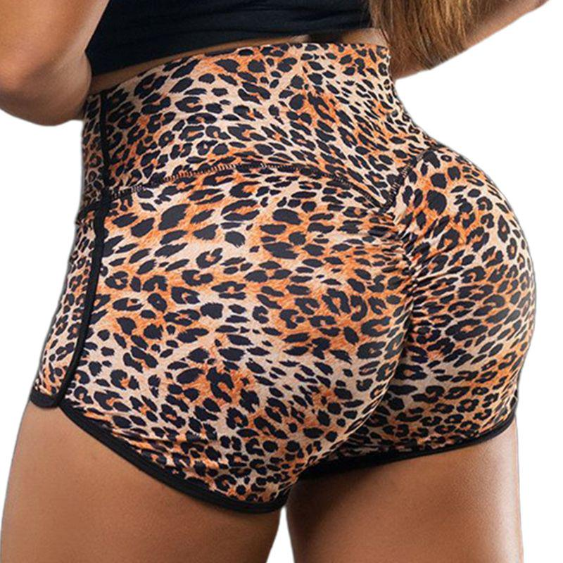 Female Breathable Animal printed Fitness Shorts Bottoms briefs S-2XL 1pc