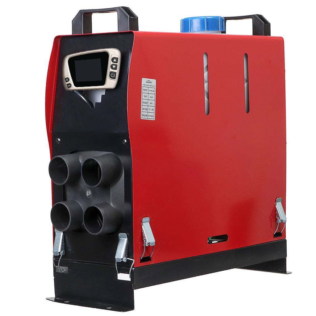 Air Diesel Heater 12V//24V 8KW Diesel Parking Heater Kit with 4 Holes Fuel Heater for Truck Boat Car Trailer Motorhomes Touring Car Campervans Caravans
