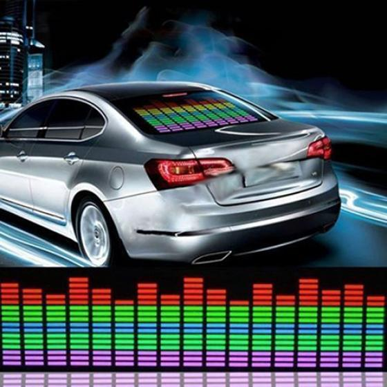 Equipment 45x11cm Auto Musik Rhythmus Led Licht Lampe Aufkleber Sound Aktiviert Equalizer Musical Instruments & Gear