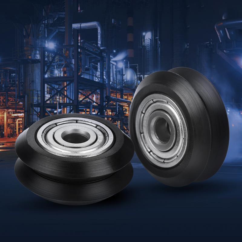 20pcs 3d Printer Supplies 625 Bearing For CNC 3D Printer POM 5mm Bore Wheels V-