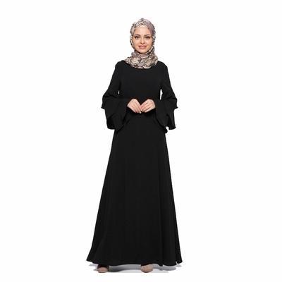 ebde38f7bcfc1 Sale Muslim Clothes Abaya In Dubai Maxi Sleeve Muslim Women's ...