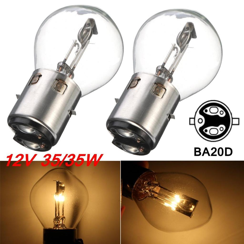 New Pack of H4 12v 35w//35w Halogen Front Headlight Bulb Motorcycle ATV Scooter