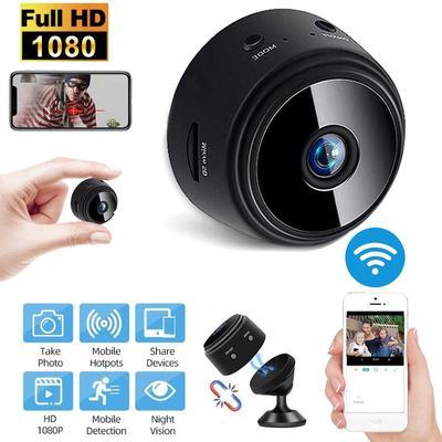 1080P HD IP Mini Camera Wireless Recorder WIFI Security Remote Control Surveillance Night Vision Hidden Mobile Detection Camera