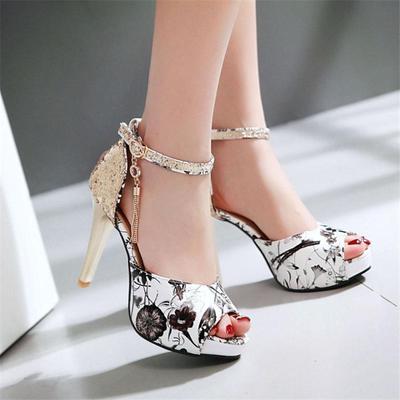 a28465aa4b5 Summer Shoes Designer Sandals Platform High Heels Shoes Ankle Strap ...