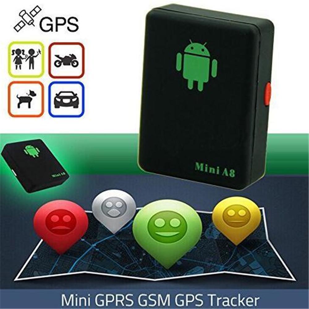 Mini A8 GPS Tracker Ortungsgerät Auto Kid Global Tracking Device Diebstahlsicher