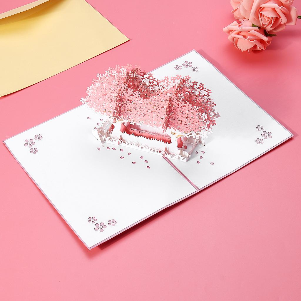 Details about  /3D Pop-Up Cards Birthday Card Kids Wife Husband Greeting Postcard with Envelop