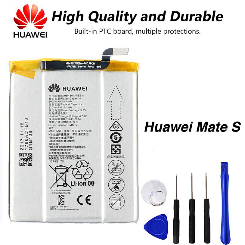 Original High Quality Hb436178ebw Battery For Huawei Mate S Ul00 Crr Cl00 Crr Ul00 2700mah Buy At A Low Prices On Joom E Commerce Platform