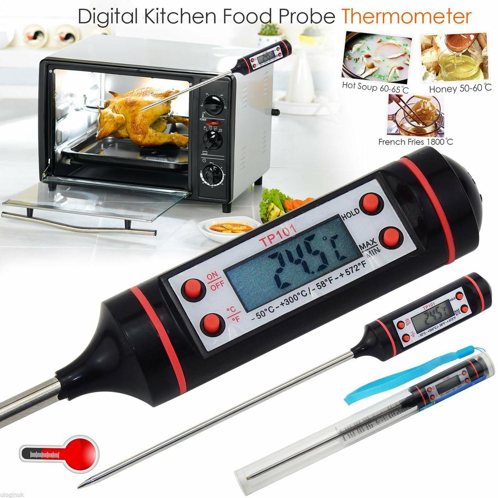 Digital Kitchen Meat Cooking Food Probe Oven Electronic BBQ Thermometer