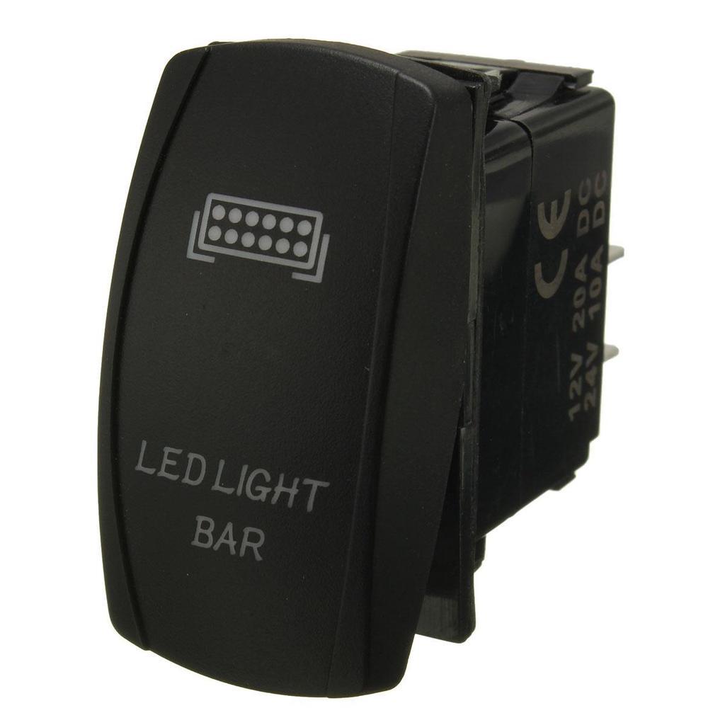 SUV ATV JEEP LED Lichtleiste ON/OFF Kippschalter Verdrahtung ...