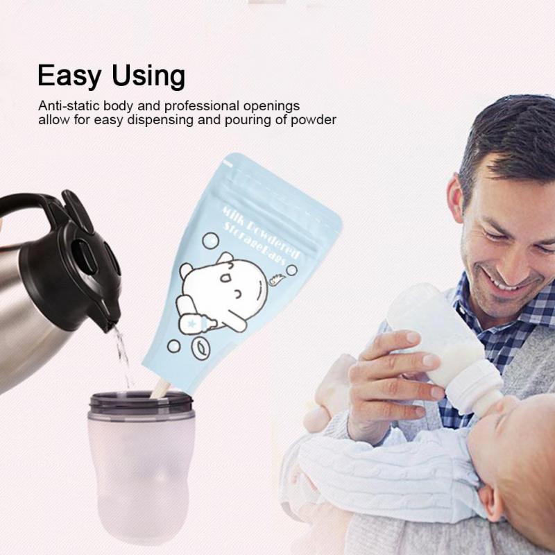 BPA Free 36Pcs//Pack Portable Disposable Formula Pouch Dispenser Baby Milk Powder Storage Bags Milk Powder Box Storage Safe and Non-Toxic