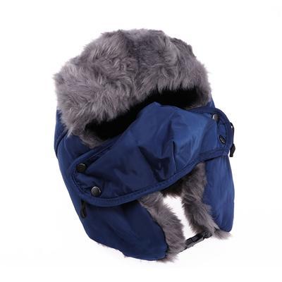 Men Women Winter Ushanka Trapper Trooper Hat Ski Russian Ear Flap Chin Strap Cap