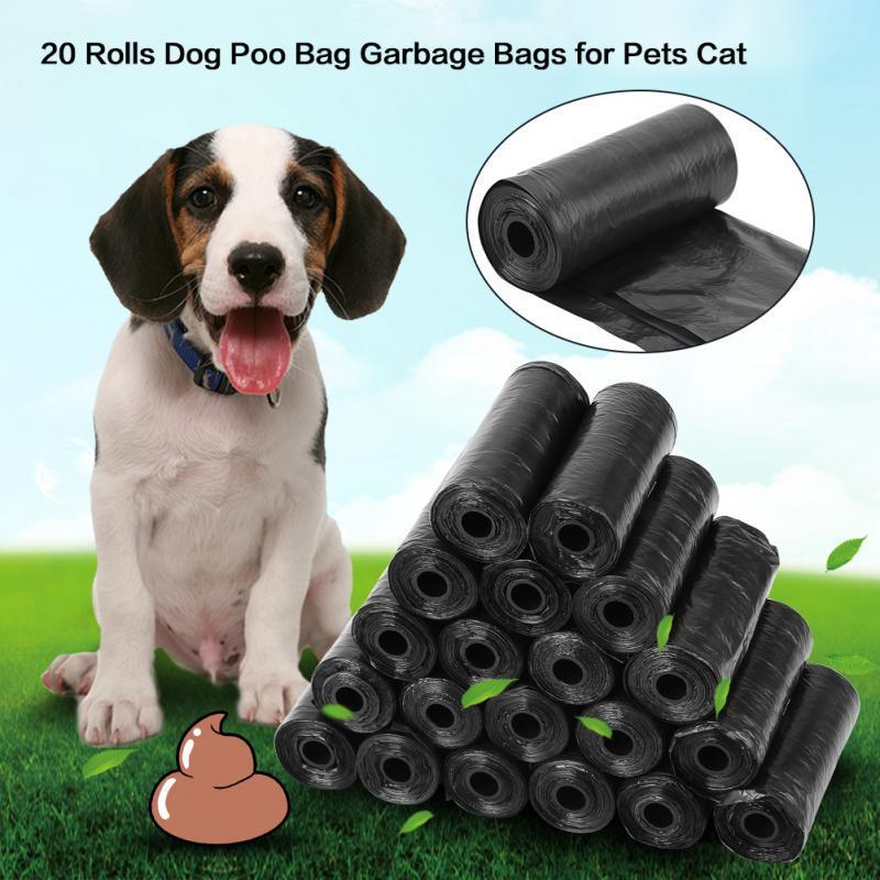 20 рулонов собаки Poo мешок мусора мусора мешки Cat животные сбора отходов мешок – купить по низким ценам в интернет-магазине Joom