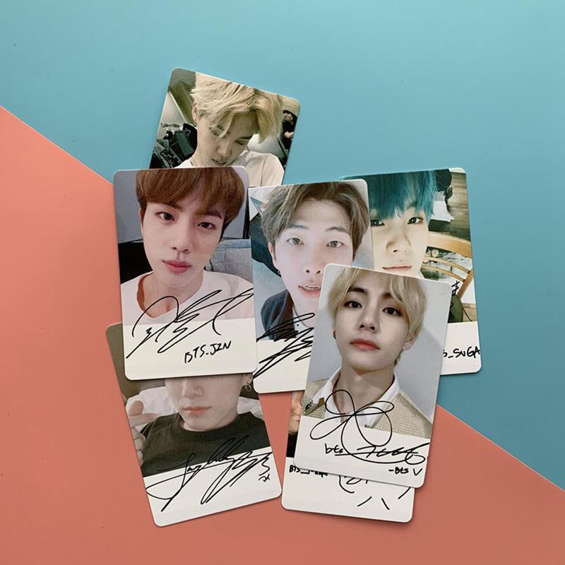 Набор открыток с участниками группы BTS. 7 шт – купить по низким ценам в интернет-магазине Joom