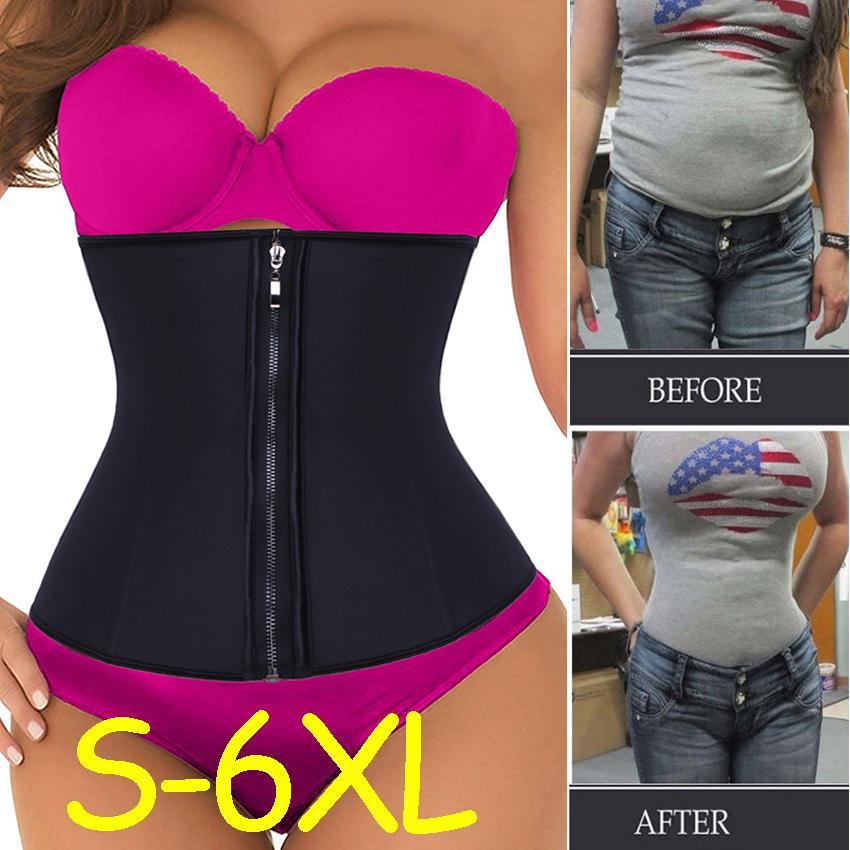 Women Waist Trainer Corset Abdomen Slimming Body Shaper Sports Girdle Belt Hot