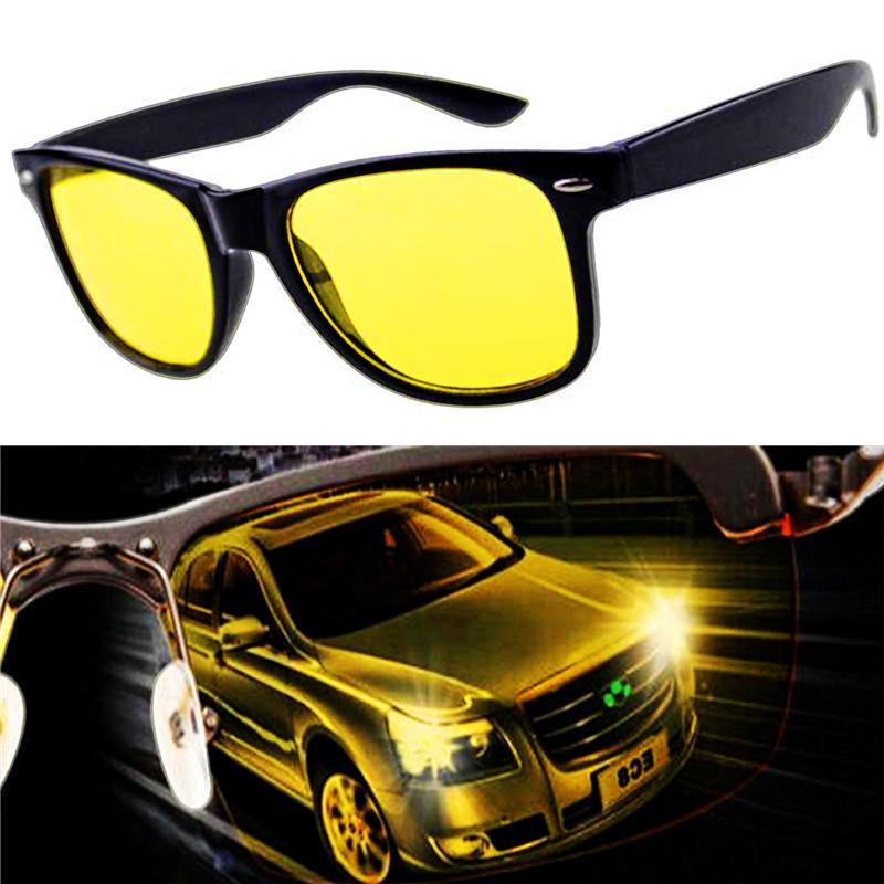 Прицел ночного вождения желтые очки солнцезащитные очки HD поляризованных анти бликов фото