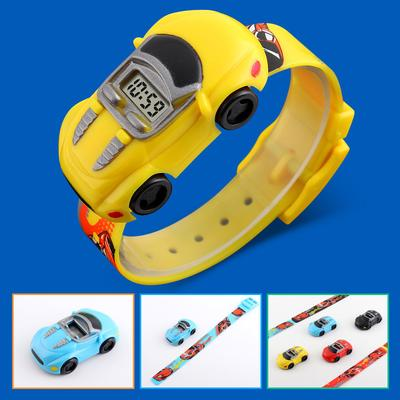 Wristwatch Digital Watch Sport Kids Casual LED Car Cartoon Electronic Children Fashion Wild