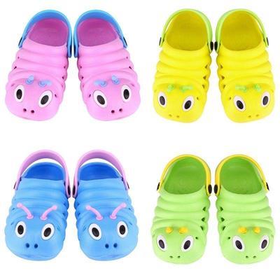 Kids Girls Boys Toddler Summer Holiday Beach Slip On Sandals Jelly Slipper Shoes