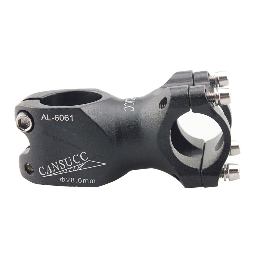 25.4//31.8mm Hollowed-Out Handlebar Short Stem for Mountain Road Bike Bicycle MTB