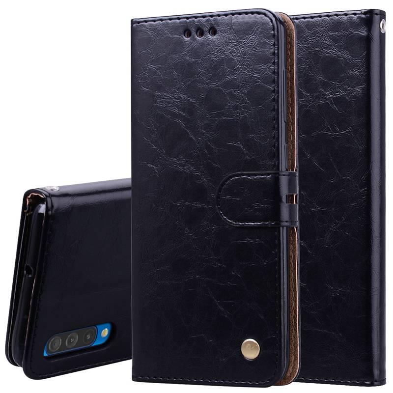 Магнитные флип кожаный телефон случае Samsung Галактика S10 S8 S9 плюс A30 С50 A6 A8 A7 J4 J6 2018 J3 J5 J7