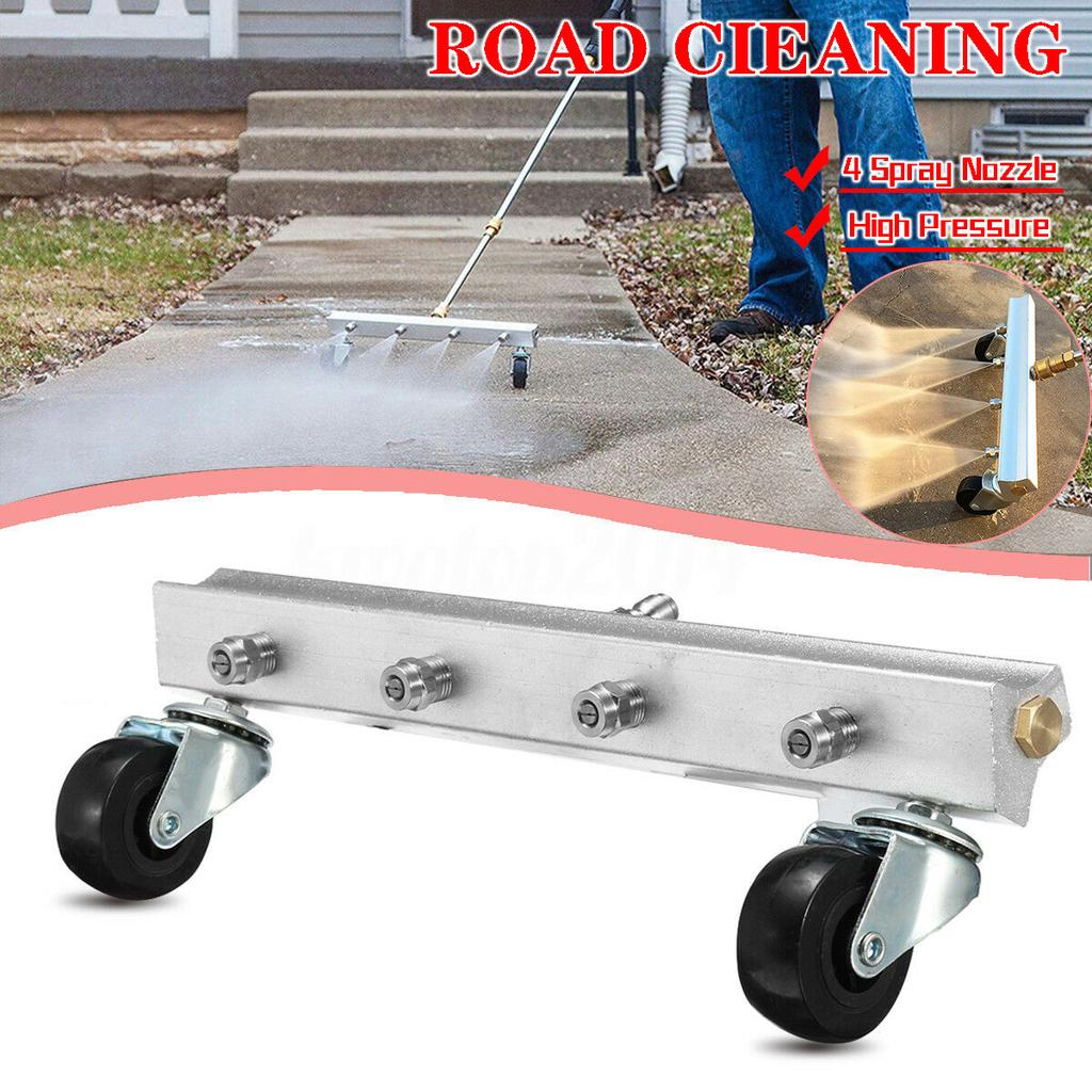 Car Chassis Cleaning Pressure Washer Water Broom Nozzles Automobile Cleaner