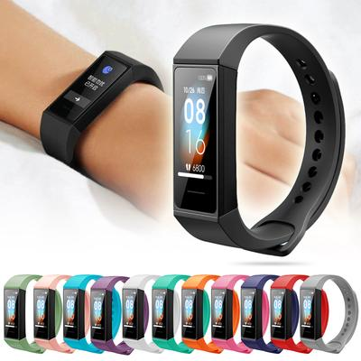 Replacement Silicone TPU Bracelet Soft Strap Wristband For Xiaomi Redmi Band