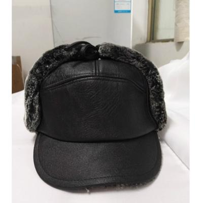 0f9e15a8c238b ... Thicken Woolen Caps. Buy · Arrival Winter Man Earflap Baseball Cap  Leisure Fuax Fur Russian Bomber Hat