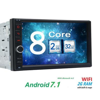 0930589361c EinCar 7in Double din Android Car Stereo Receiver with Bluetooth and GPS  Navigation FULL Touchscreen