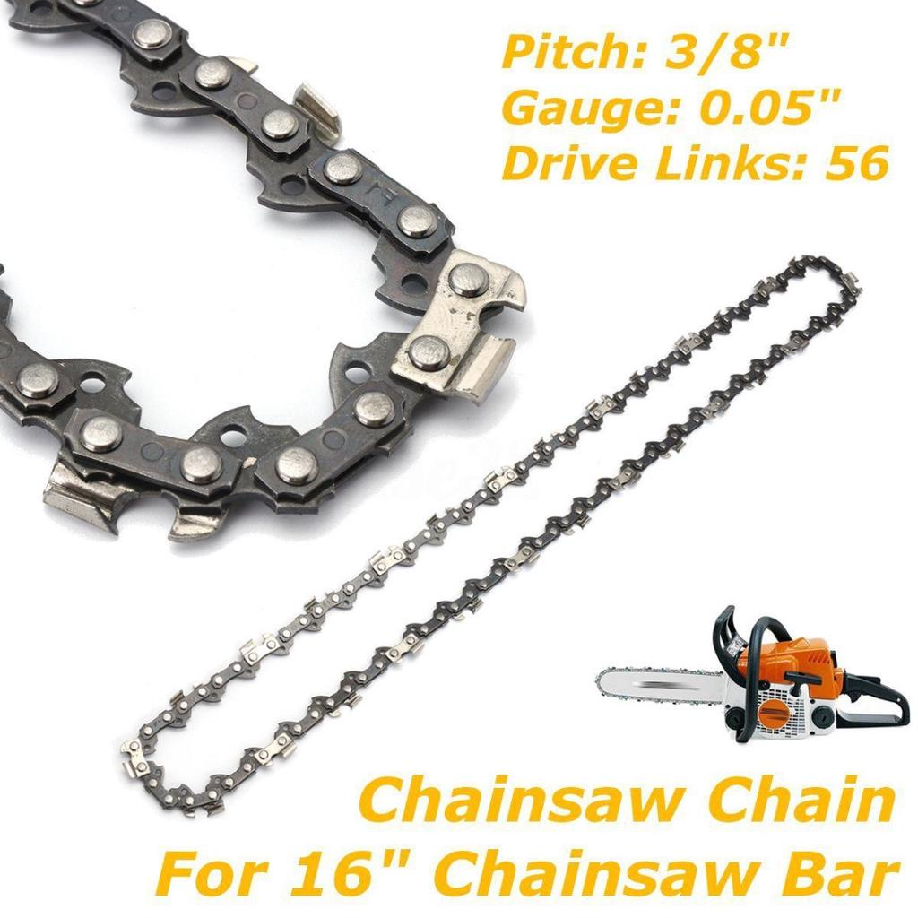 Chainsaw Saw Chain 16inch 3//8 LP 050 55DL fit for Stihl MS170 MS180 MS181 MS190