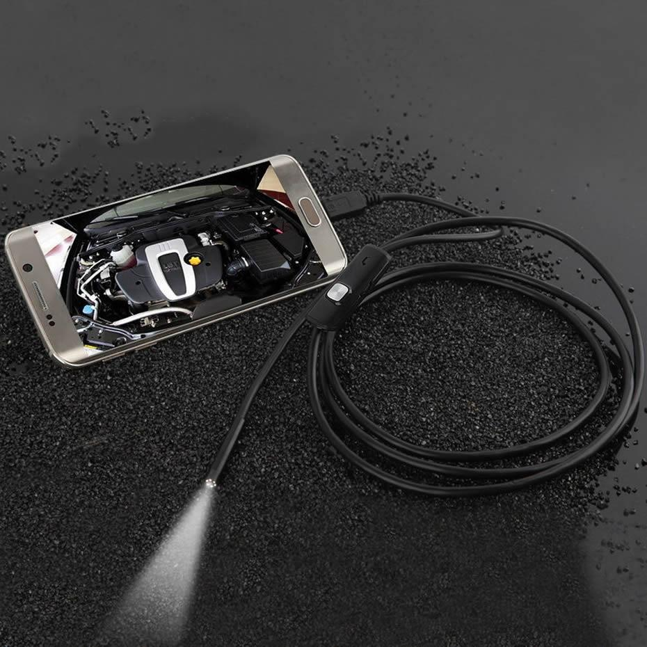 7mm&5M 5M 6LED 5.5mm 7mm Android Endoscope Waterproof Snake ...
