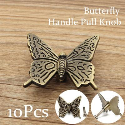 Vintage Butterfly Cabinet Handles Pull Handles Kitchen Furniture