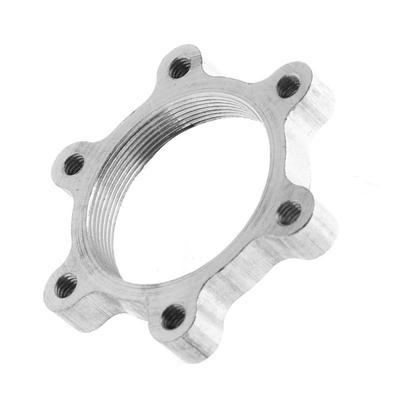 6 Bolt Flange Adapter Freewheel Thread Hubs Disc Brake Rotor 44mm 2PC