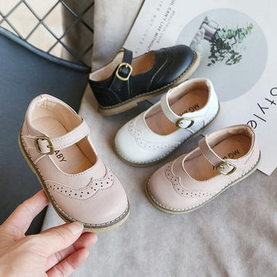 Kids Girls Shoes Children Casual Shoes All-match Soft Bottom Non-slip Princess Shoes