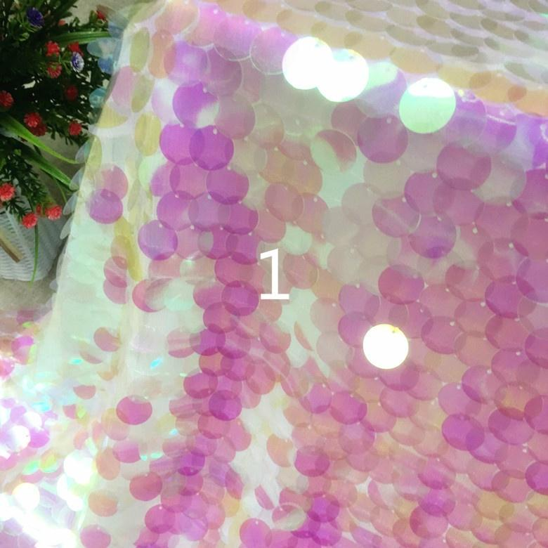 Lace Mesh Sheer Shiny Fabric DIY Material Costume Party Decor By Yard Fairy Pink