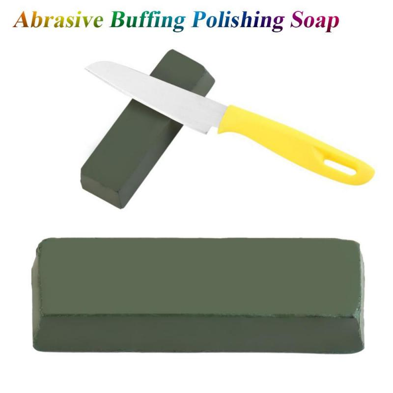 Buffing Compound Polishing Paste Metal Brass Grinding Abrasive Soap Buffing Wax Bar Tool