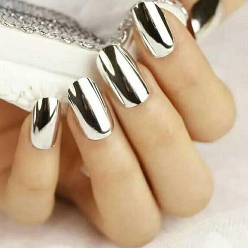 Espejo polvo Nail Art cromo pigmento brillos de uñas - comprar a ...